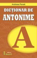 DICTIONAR DE ANTONIME
