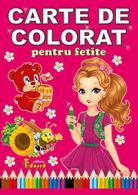 Carte de colorat pentru fetițe