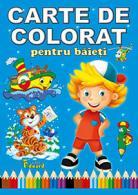 Carte de colorat pentru băieți